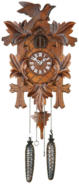 Horloge coucou traditionnelle mouvement à quartz 35cm de Trenkle Uhren