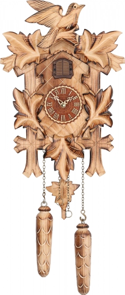 Horloge coucou traditionnelle mouvement à quartz 36cm de Trenkle Uhren