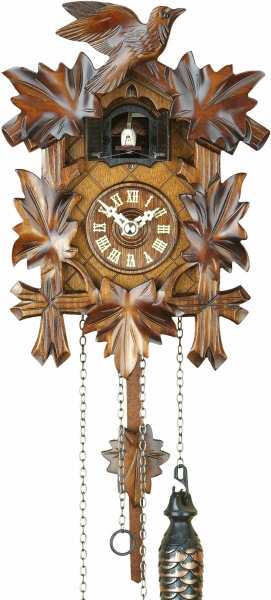 Horloge coucou traditionnelle mouvement à quartz 24cm de Trenkle Uhren